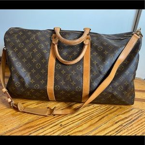 Authentic Louis Vuitton Keepall 55 bandouliere